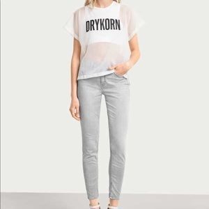 Drykorn For Beautiful People Gray Skinny Jeans